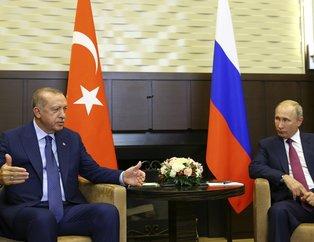 Rusya Devlet Başkanı Putin, Başkan Erdoğanı Soçide böyle karşıladı