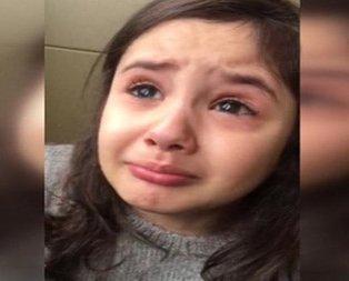 Minik Irmak Cumhurbaşkanını göremeyince ağladı