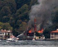 Vaniköy Camii'de çıkan yangının sebebi belli oldu