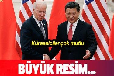 Çin Devlet Başkanı Şi Cinping'den JoeBiden'a tebrik