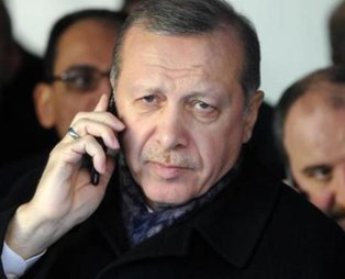 Erdoğan'dan kazada ölenlerin ailelerine başsağlığı telefonu
