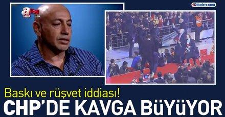 """CHP'de """"ahlaki sınırları aşan baskı ve rüşvet"""" iddiası"""