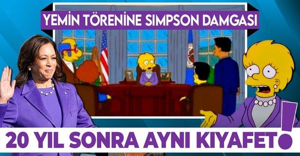Törene Simpson damgası! 20 yıl önceden bildiler