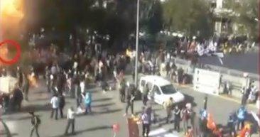 Ankara Garı'ndaki katliamın yeni görüntüleri ortaya çıktı!