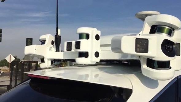 Appleın Otonom Araba Teknolojisi Ilk Kez Bu Kadar Yakından Görüldü