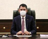 Bakan Kurum'dan flaş TOKİ açıklaması
