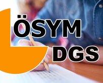DGS başarı sıralaması açıklandı mı?