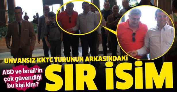 İmamoğlu'nun unvansız KKTC turu