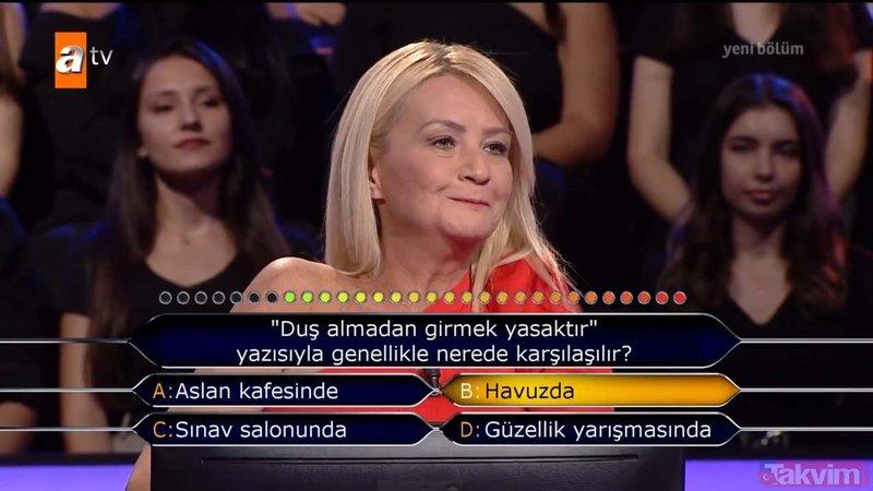 Kenan İmirzalıoğlu'nun sunduğu Kim Milyoner Olmak İster'de geceye damga vuran soru!