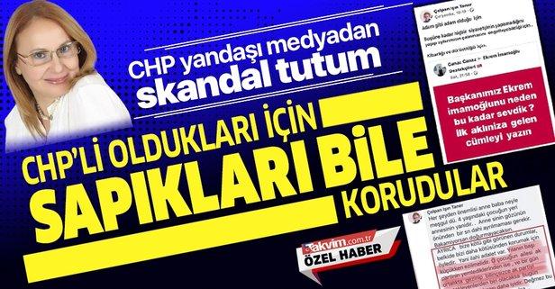 CHP yandaşı medyadan ikiyüzlü tutum!