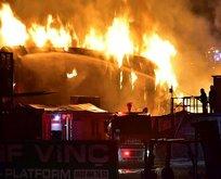 Gaziantep'te korkutan yangın!