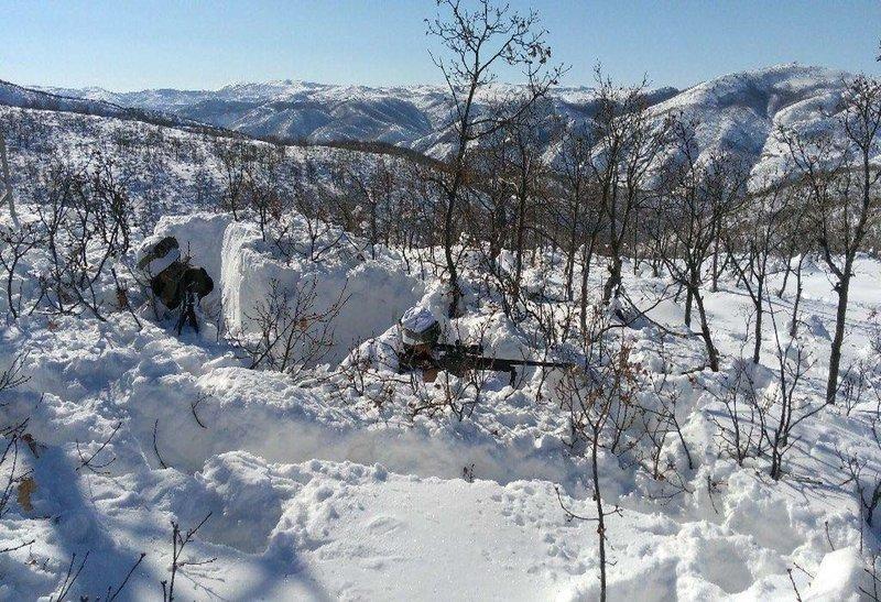 Tuncelide terör örgütlerinin kış üslenmesine ağır darbe