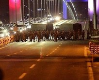 Şehitler Köprüsü davasında arbede çıktı!
