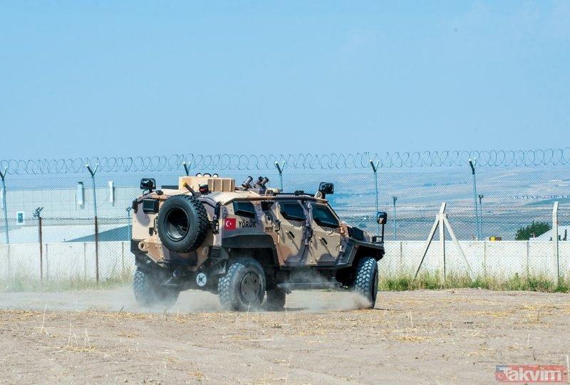 Türk zırhlısı YÖRÜKten güç gösterisi