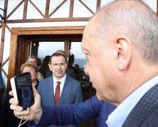 Başkan Erdoğan Hacire Ana ile görüştü