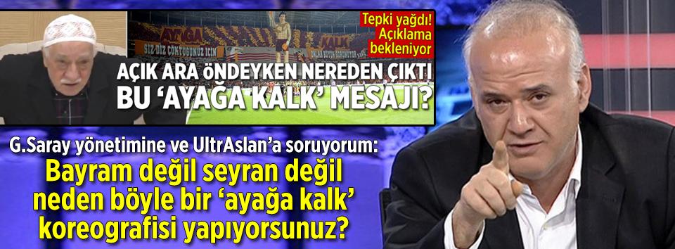 Ahmet Çakar: Ayağa kalk koreografisinin amacı ne?