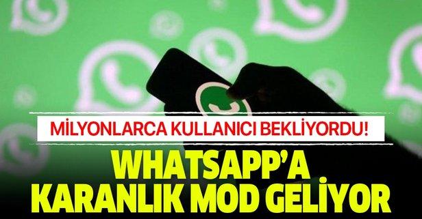 WhatsApp'a uzun zamandır beklenen özellik geliyor!