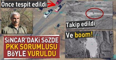 PKK'nın sözde Sincar sorumlusu İsmail Özden'in etkisiz hale getirilişi