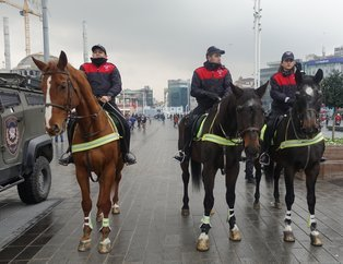 İstanbul'da yılbaşı tedbirleri | Atlı polisler yılbaşı gecesi ilk kez görev yapacak