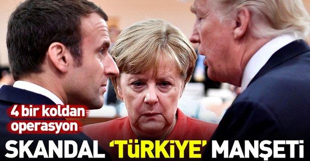 Almanlardan skandal Türkiye manşeti