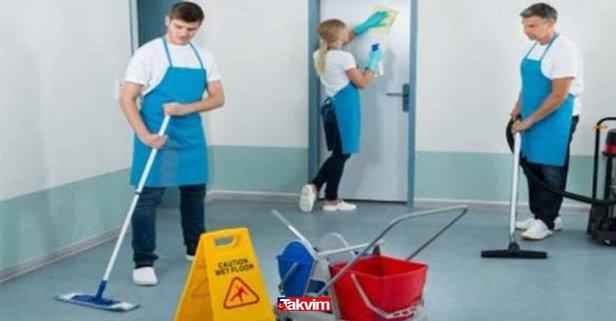 İŞKUR en az ilkokul mezunu binlerce temizlik görevlisi alımı başvuru şartları nedir?
