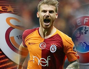 Galatasaray'da UEFA depremi! Serdar Aziz...