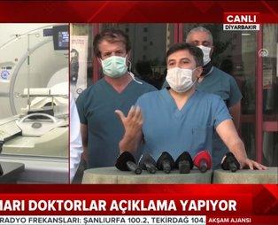 Son dakika: Koronavirüse Türk Işın Tedavisi! Diyarbakır'da uygulandı