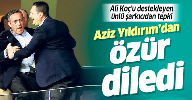Şarkıcı Alişan'dan Ali Koç'a tepki