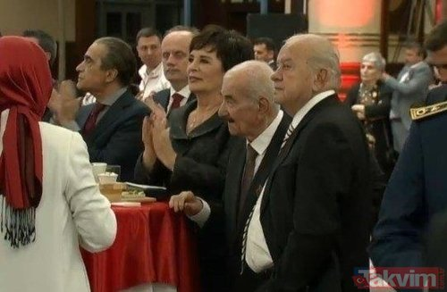 Cumhurbaşkanlığı Külliyesi'nde gerçekleştirilen 29 Ekim Cumhuriyet Bayramı Kabul Töreni'ne ünlü akını