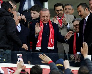 Başkan Erdoğan'dan Eskişehirspor'a müjde!
