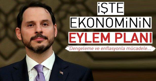 Bakan Albayrak ekonomi eylem planını açıkladı
