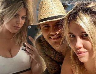 Mauro Icardi ve eşi Wanda Nara'dan 'bir o... için aileni mahvettin' paylaşımı sonrası şok! Karısını aldattığı iddia edilen Icardi...