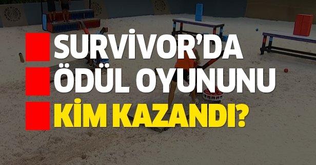 2 Temmuz Survivor ödül oyununu kim kazandı?