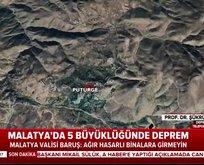Prof. Dr. Ersoy, Malatya depremini değerlendirdi