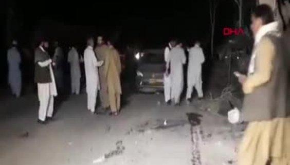 Pakistan'da patlama!