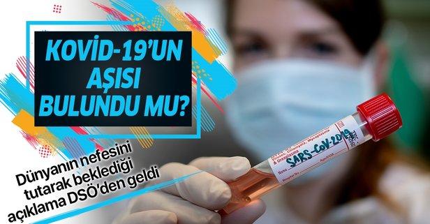 Koronavirüs Kovid-19 aşısı bulundu mu?