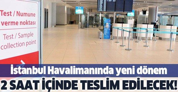 İstanbul Havalimanı'nda test merkezi!