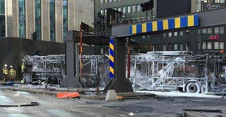 İsveç'in başkentinde patlama