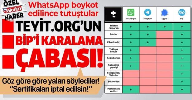 Teyit.org'un Bip'i karalama çabası!