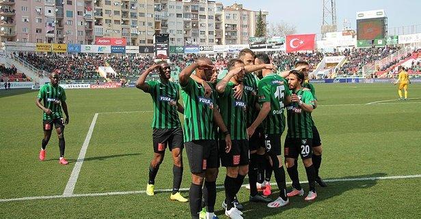 Denizlispor 8 maç aradan sonra güldü
