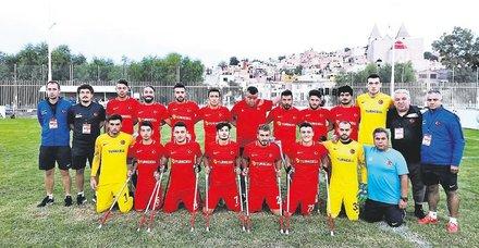Ampute Futbol Milli Takımı Dünya Kupası'nda finalde