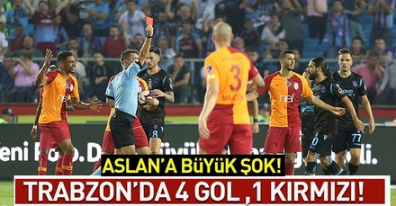 Fırtına Aslanı darmadağın etti!( MS:Trabzonspor 4-0 Galatasaray)