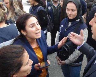 Polis amirinden HDP'li vekil için 'süpür' talimatı