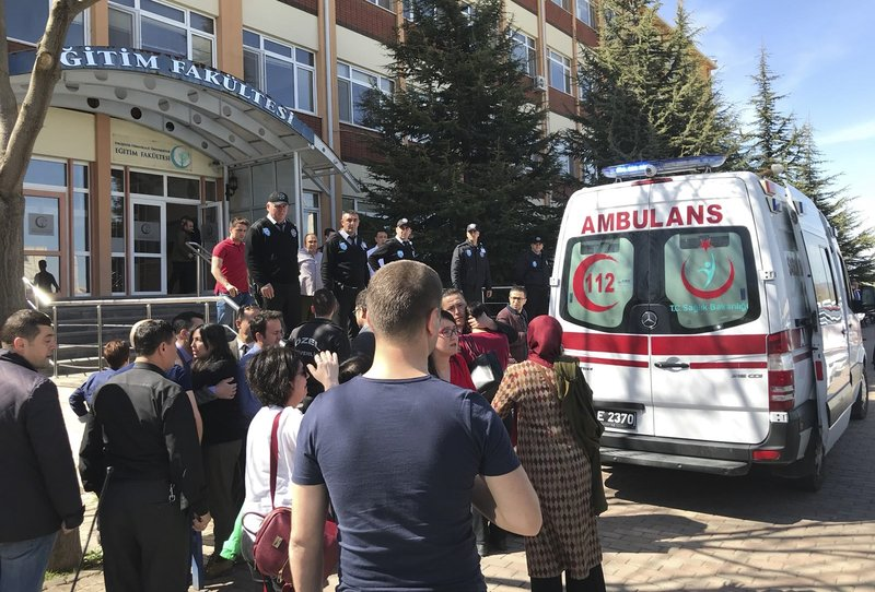 Eskişehir Osmangazi Üniversitesi'nde katliam