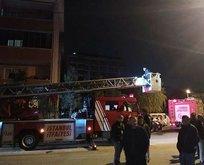 Pendik'te korkutan yangın! Vatandaşlar mahsur kaldı