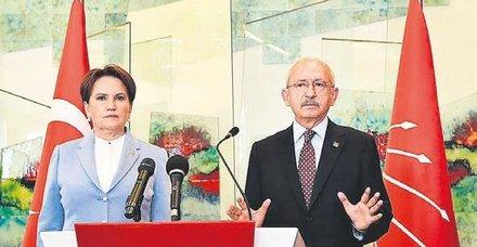 Kılıçdaroğlu ve Akşener yine YSK'ya 'baskı' açıklamaları yaptı
