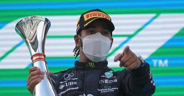 İspanya'da zafer Hamilton'ın!