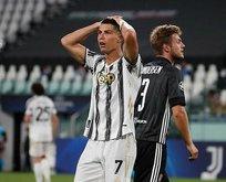 Juventus elendi! Lyon çeyrek finalde