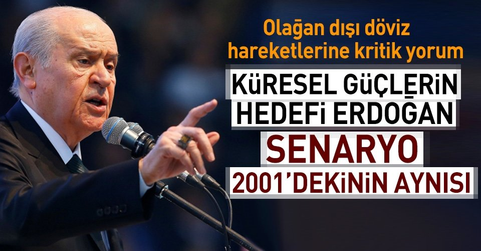 Bahçeliden kritik Erdoğan açıklaması!