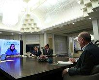 Başkan Erdoğan, Kabine üyeleriyle görüştü